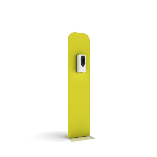 Covid 19 Hand Sanitizer Station - Slimline - Stock Printed Yellow SZL0010YEW